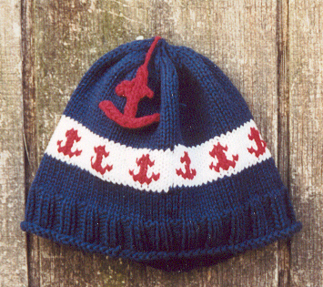 Blue Anchor Hat