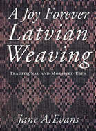 Joy Forever Latvian Weaving