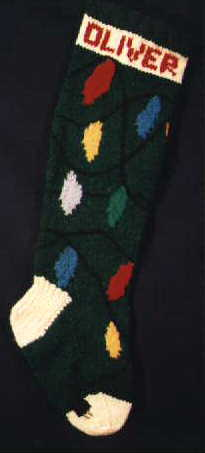 Christmas Lights Stocking